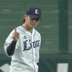 【GIF】西武・金子侑司さんのファインプレー!