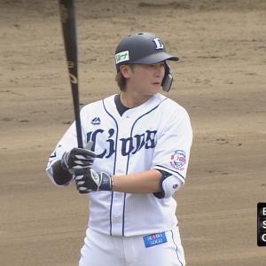 西武金子、2安打1盗塁で復調アピール!