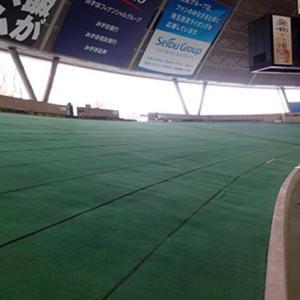 【悲報】西武ドーム外野席の芝生が無くなる
