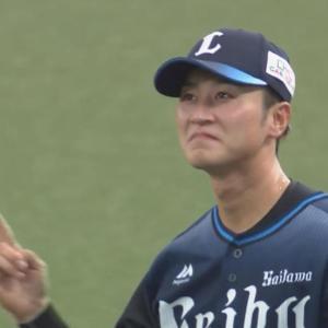 西武ファンが求めていたセンター金子侑司さん、発見される