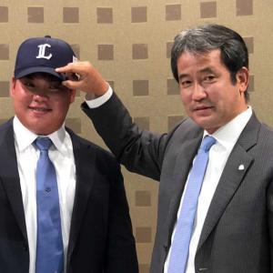西武潮崎「ドラフトで野手は10人ぐらい狙い通り獲れた」