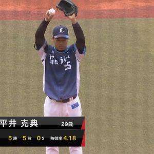 西武平井が開幕ローテに前進 辻監督「投げてもらうしかない」