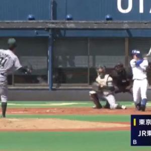 JR東日本・山田龍聖投手に10球団が視察