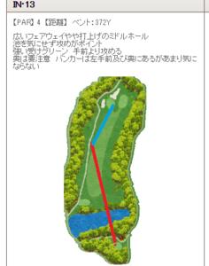 そばの名産地山形県大石田町でゴルフ 5