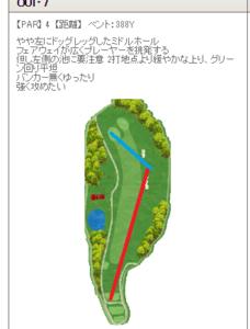 そばの名産地山形県大石田町でゴルフ 9