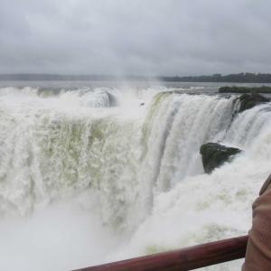 アルゼンチン側イグアスの滝の絶景
