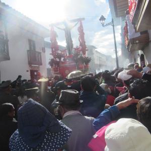 ペルーの クスコで一歩間違えれば、私も路上生活の浮浪者に