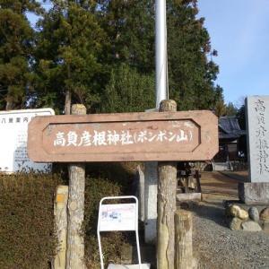 高負彦根神社とポンポン山(吉見町)