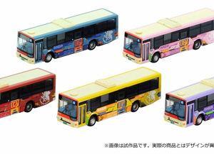 ジオラマ用 箱根登山バス エヴァンゲリオンバス発売