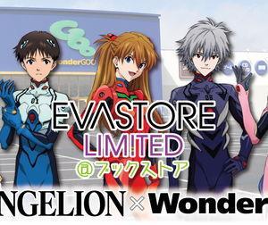 WonderGOO一部店舗でエヴァストアが期間限定オープン!先行販売やエヴァストア限定商品も