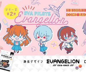 エヴァのオリジナルグッズ第2弾が全国の100円ショップに登場!「EVA PILOTS」 新シリーズ「EVA-UNIT」も