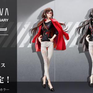 『マリ Ver.RADIO EVA』フィギュア登場!通常版とオリジナルカラー版