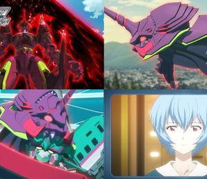 『シンカリオンZ』第21話に巨大怪物体「鬼エヴァ」&綾波レイが登場 先行カット&あらすじ公開