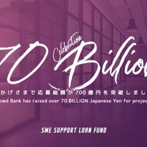 クラウドバンクからmaneoファミリーの最終貸付先ファンド登場&700億突破記念キャンペーン!