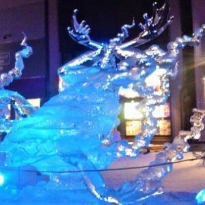 【2013  氷彫刻世界大会 in 旭川】