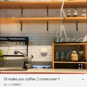コーヒーを淹れてあげるよ♡ Donghae YT Live~☆