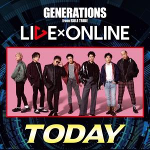LIVE×ONLINE 〜ひとつになろうYou & I~ Today 20:00✧‧˚