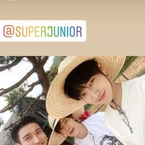 SJは農作業スタイルで!Yesung SNS~☆