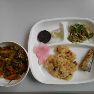 9月9日今日の昼食