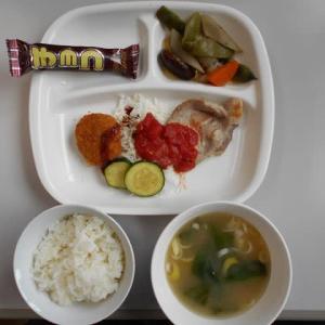 9月12日今日の昼食
