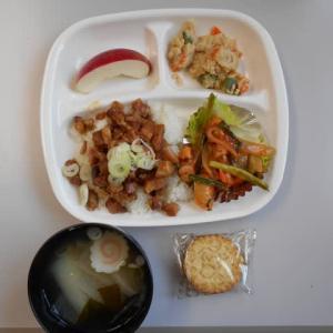 9月20日今日の昼食