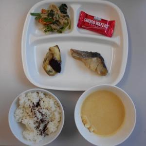 10月1日今日の昼食