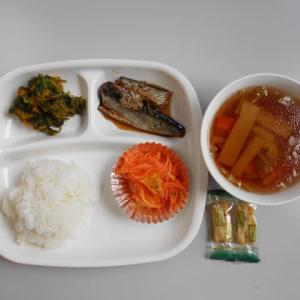 10月17日今日の昼食