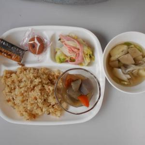 11月22日今日の昼食