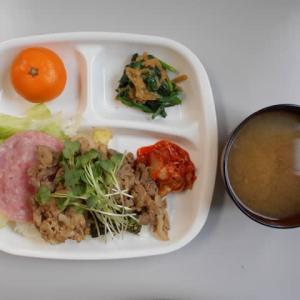 1月17日今日の昼食