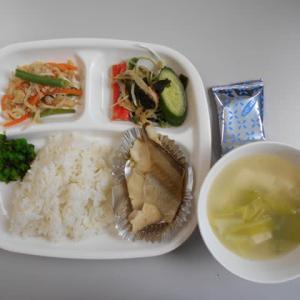 2月28日今日の昼食