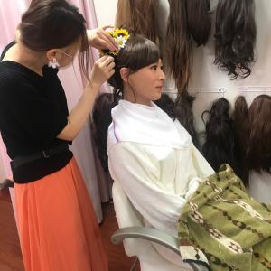 女装変身フォトスタジオ♡夏の汗かきストップ方法をYouTubeで学ぶ