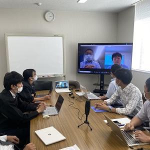 オンラインミーティングで業務効率UP。