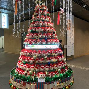 干支のクリスマスツリー