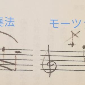 モーツァルトの記譜法