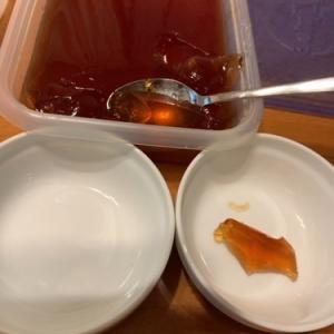 56.0kg(開始後、7日目)−0.0kg☆糖質0の紅茶ゼリーを作る