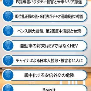 11月上旬号 藤井厳喜の「ワールド・フォーキャスト」> 今回のアジェンダ