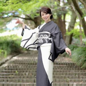 ミセスインターナショナルのyoshimi様の着物姿