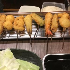 串カツ♡七福神♡ルミナリエ♡誕生花(葉牡丹)♡オトナの弁当