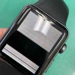 Apple watch series3が遂に故障! 修理に出すことに!