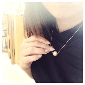 今日は真珠な日
