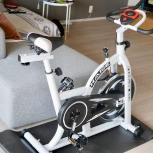 ダイエット&トレーニング用にハイガー産業のスピンバイク購入!