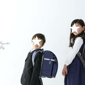 息子の入学記念|ライフスタジオで素敵な写真!