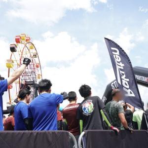 スパルタンレース SUPER in東京ドイツ村 家族子供連れ参加