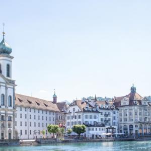 スイスで最も美しい街ルツェルンを散策