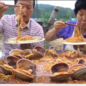 日本と韓国のラーメン食べ方相違