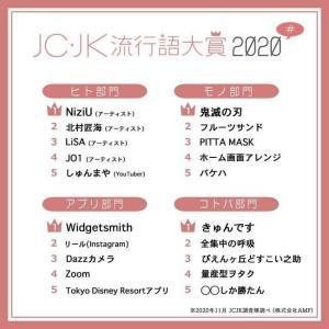 JC・JK流行語大賞2020