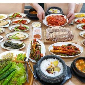 韓流派のつぶやき【韓国の食堂料理】