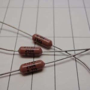 PTF65250R00AYBF 1/4W 250Ω 0.05% 精密抵抗
