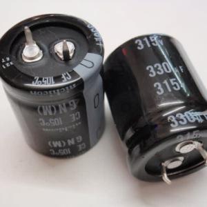 特価 315V330μ 25x30m/m ニチコン
