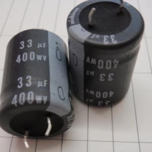 特価品 400V33μ 22x30m/m ニチコン